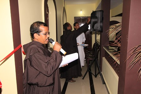 Carmelites open their new centre at St  Estevam